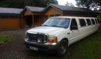 Ford Excursion Super Stretch 17 seats full