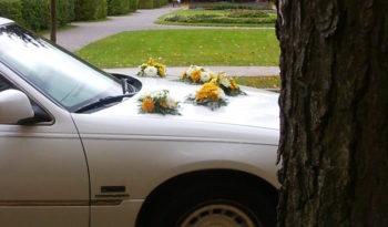 Lincoln Town Car (valge) 8 kohta full